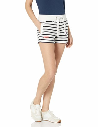 Superdry Women's Sun and Sea Breton Stripe Drawstring Short