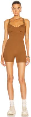 Nylora Kizzy Ribbed Jumpsuit in Walnut | FWRD