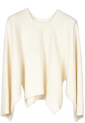 Oyuna Cloe Knitted Wool Blend Pullover In Star Ivory