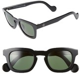 Moncler Women's 47Mm Sunglasses - Dark Havana / Smoke