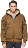 Levi's Big & Tall Sherpa-Lined Canvas Bomber Jacket