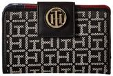 Tommy Hilfiger TH Serif Signature - Medium Snap Flap Wallet