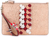 Anya Hindmarch Prism large pouch clutch - women - Calf Leather - One Size