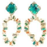 Alexis Bittar Dancing Baguette Large Clip Earrings