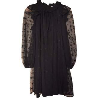 Claudie Pierlot Black Lace Dress for Women