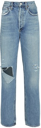 AGOLDE Fitted 90s Straight-Leg Jeans