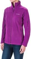 Columbia Fast Trek II Fleece Jacket (For Women)