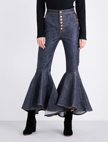 Ellery Hysteria bootcut high-rise jeans