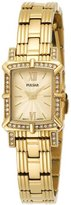 Pulsar Women's PEGD40 Swarovski Crystal Collection Gold-Tone Watch