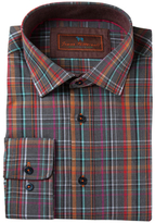 James Tattersall Cotton Plaid Sportshirt