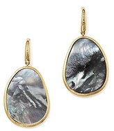Marco Bicego 18K Yellow Gold Lunaria Black Mother-Of-Pearl Drop Earrings