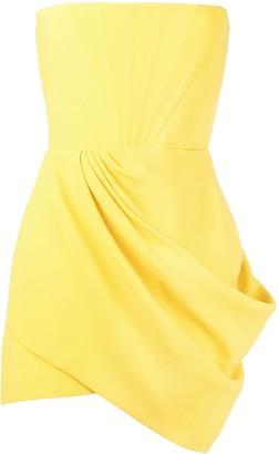 Alex Perry Drape Detail Dress