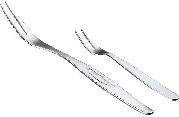 Crate & Barrel Seafood Forks