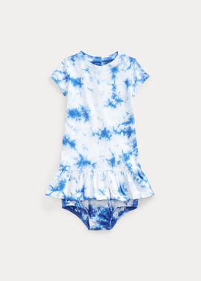 Ralph Lauren Tie-Dye Dress & Bloomer