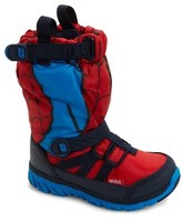 Stride Rite Boy's Made2Play Spiderman Water Resistant Boot