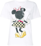 Victoria Beckham printed T-shirt - women - Cotton - 1
