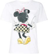 Victoria Beckham printed T-shirt - women - Cotton - 4