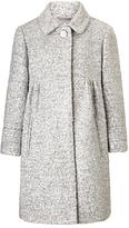 John Lewis Girls' Sequin Coat, Grey