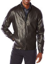 Perry Ellis Faux Leather Jacket