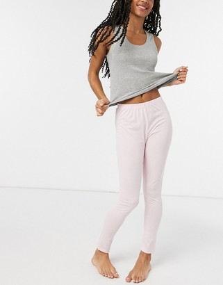 Outrageous Fortune nightwear leggings in pink