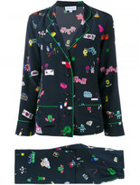 Mira Mikati printed suit