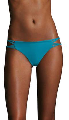 Mikoh Molokai Knotted Skinny String Side Bikini Bottom