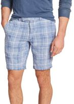Polo Ralph Lauren Plaid Linen Shorts