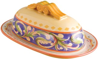 Pfaltzgraff Villa Della Luna Covered Butter Dish