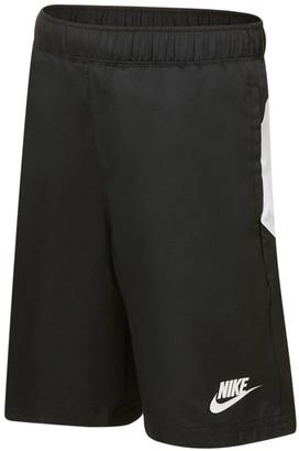 Nike Boys Oversized Swoosh Woven Shorts