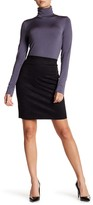 Wolford Pull On Faux Suede Solid Skirt