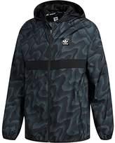 adidas Men's Skateboarding Blackbird Warp Print Wind Jacket