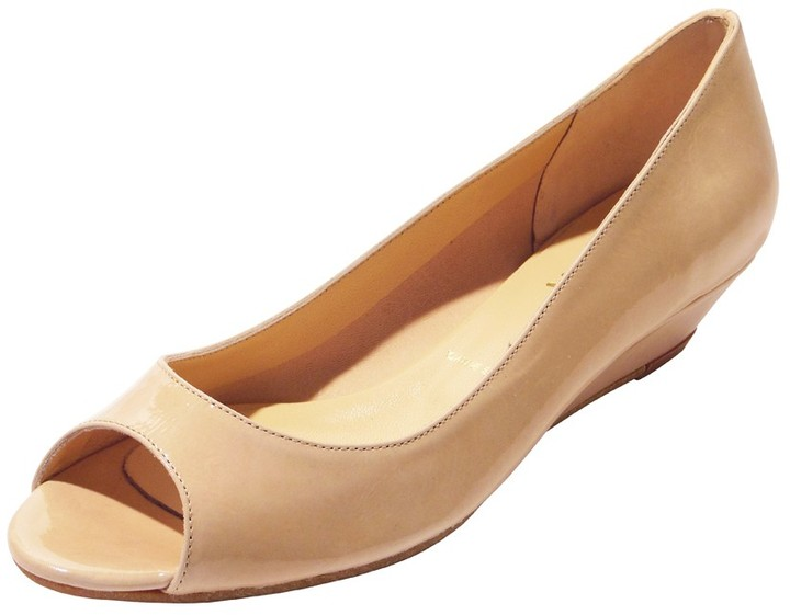Butter Shoes Santana NB in Nude Patent