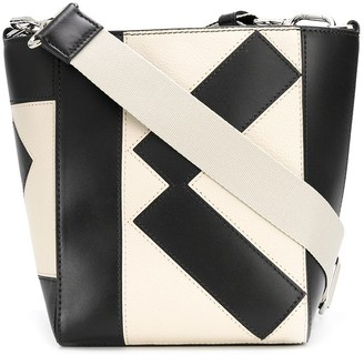 Kenzo Stitched Logo Bucket Bag
