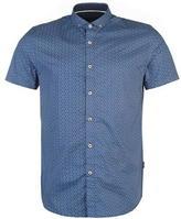 Mish Mash Leyburn Patterned Short Sleeved Shirt