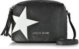 Armani Jeans White Star Small Crossbody Bag