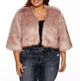 Boutique + Ashley Nell Tipton for + Long Sleeve Poncho-Plus