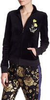 Juicy Couture Pretty Things Velour Track Jacket