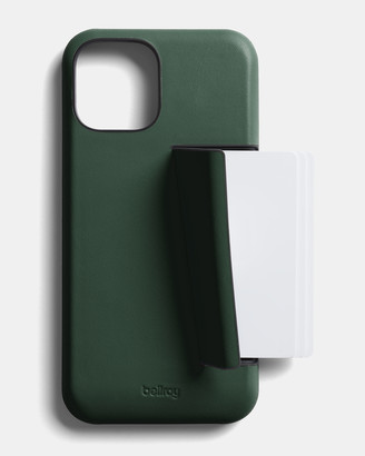 Bellroy Men's Green Phone Cases - Phone Case - 3 card iPhone 12 Pro Max - Size One Size at The Iconic