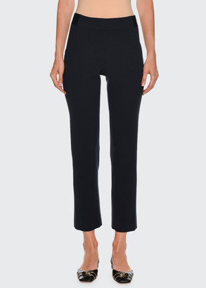 Giorgio Armani Straight-Leg Ankle Wool Pants