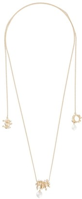 Givenchy Spiral Lasso necklace