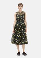 Simone Rocha Bell Tulle Dress Black/Yellow Size: UK 8