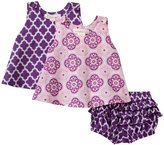 Masala Medallion Boogie 3 Piece Set (Baby) - Purple-18-24 Months