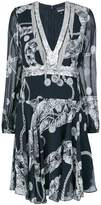 Just Cavalli Chain Reaction short dress