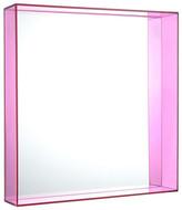 Kartell Only Me Mirror - 50x50cm - Fuchsia