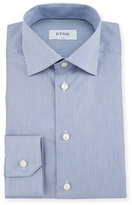 Eton Slim-Fit Bengal-Stripe Dress Shirt, Blue