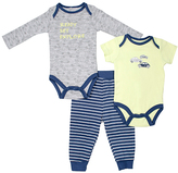 Cutie Pie Baby Blue Stripe Bodysuit Set - Infant