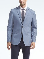 Banana Republic Standard Lightweight Blue Blazer