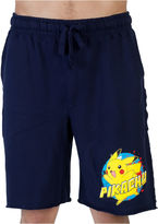 Pokemon Pokmon Pikachu Knit Pajama Shorts