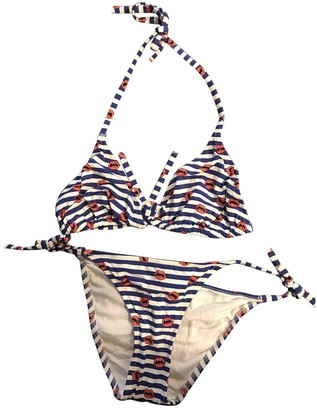 Princesse Tam-Tam White / Blue Polyamide Swimwear