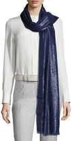 Loro Piana Duo Crystal Metallic Stole